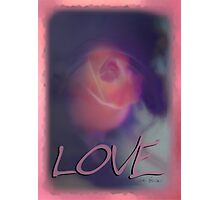Simply Love © Vicki Ferrari Photography Photographic Print