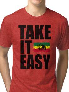 TAKE IT EASY Tri-blend T-Shirt