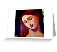 Titian Greeting Card