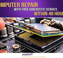Computer Repair with FREE Diagnostic Service Within 48 Hours! by pcplanit