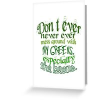 Witch's Rap Greeting Card