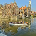 Rozenhoedkaai-Bruges by DES PALMER
