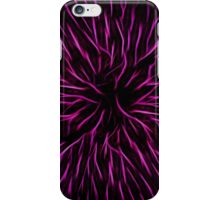 Pink Fire Flower Abstract iPhone Case/Skin