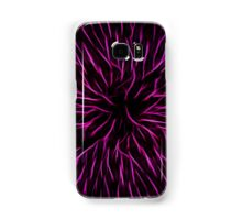 Pink Fire Flower Abstract Samsung Galaxy Case/Skin