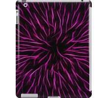 Pink Fire Flower Abstract iPad Case/Skin
