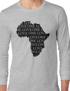 AFRICA ONE LOVE Long Sleeve T-Shirt