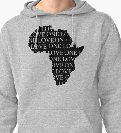 AFRICA ONE LOVE Pullover Hoodie