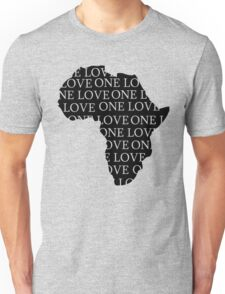 AFRICA ONE LOVE Unisex T-Shirt