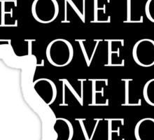 AFRICA ONE LOVE Sticker