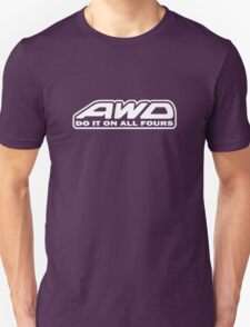 AWD Do It On All Fours (Black) T-Shirt