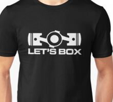 Lets Box - Subaru Boxer engine (Black) Unisex T-Shirt