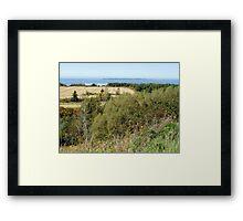 Rural Quebec Farm (2) Framed Print