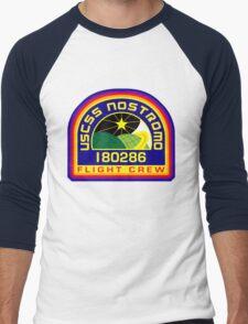 Nostromo Flight Crew Men's Baseball ¾ T-Shirt