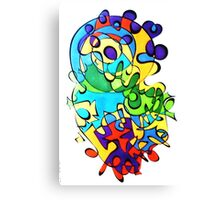 Brighted Color Canvas Print