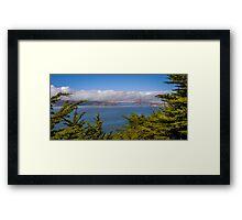 Golden Gate Strait Framed Print