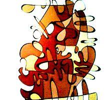 Sepian serpant by Andrew Jacob (JAKE) Byrnes