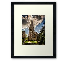 St Mary Mortimer Framed Print