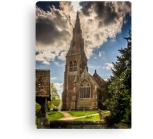 St Mary Mortimer Canvas Print