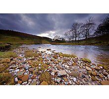 Downstream on the Wharfe Photographic Print