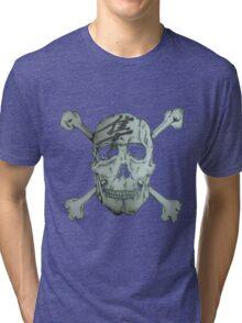 hayabusa skull Tri-blend T-Shirt