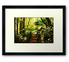 Deep within.... Framed Print