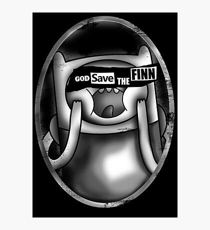 God Save the Finn Photographic Print