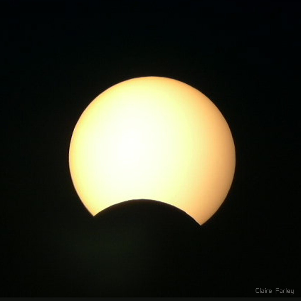 Partial Eclipse of the Sun by Claire  Farley