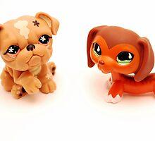 Littlest Pet Shop toys by 300busa
