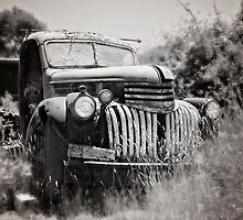 Chev 1946 - Black & White by CarlaMarie  Photography