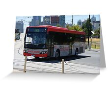 Free Bus Greeting Card