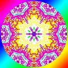 Rainbow Warriors Mandala 1 by Christopher Birtwistle-Smith