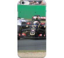 Romain Grosjean  & Valtteri Bottas iPhone Case/Skin
