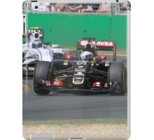 Romain Grosjean  & Valtteri Bottas iPad Case/Skin