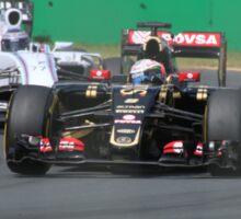 Romain Grosjean  & Valtteri Bottas Sticker