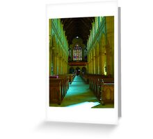 Cathedral VIII Greeting Card