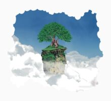 Lonely tree in the clouds Kids Clothes