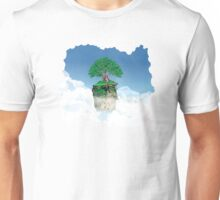 Lonely tree in the clouds Unisex T-Shirt