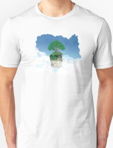 Lonely tree in the clouds T-Shirt