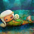 CHUNKIE Mermaid by © Karin (Cassidy) Taylor