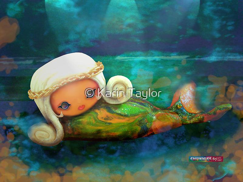 CHUNKIE Mermaid by © Karin  Taylor