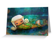 CHUNKIE Mermaid Greeting Card
