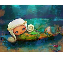 CHUNKIE Mermaid Photographic Print