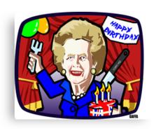Thatcher's Birthday Canvas Print