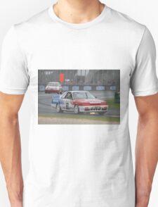 Jim Richards Flame Throwing Nissan Skyline Unisex T-Shirt