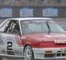 Jim Richards Flame Throwing Nissan Skyline Sticker