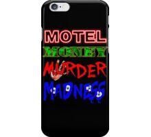 The Doors LA Woman Motel Money Murder Madness Design iPhone Case/Skin