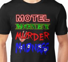 The Doors LA Woman Motel Money Murder Madness Design Unisex T-Shirt