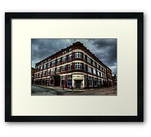 Northern Echo Building Framed Print