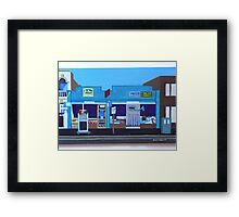 Burnley Street Milk Bar Framed Print