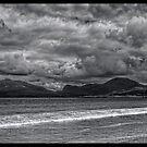 Luskentyre Beach on the Isle of Harris, Scotland by David Alexander Elder